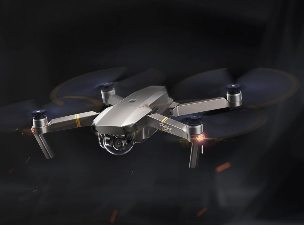 PHOTO: A DJI Technology Inc. Mavic Pro Platinum drone is pictured in an undated marketing image.