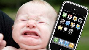 Funcionaria abandona a su Iphone recién comprado en casa