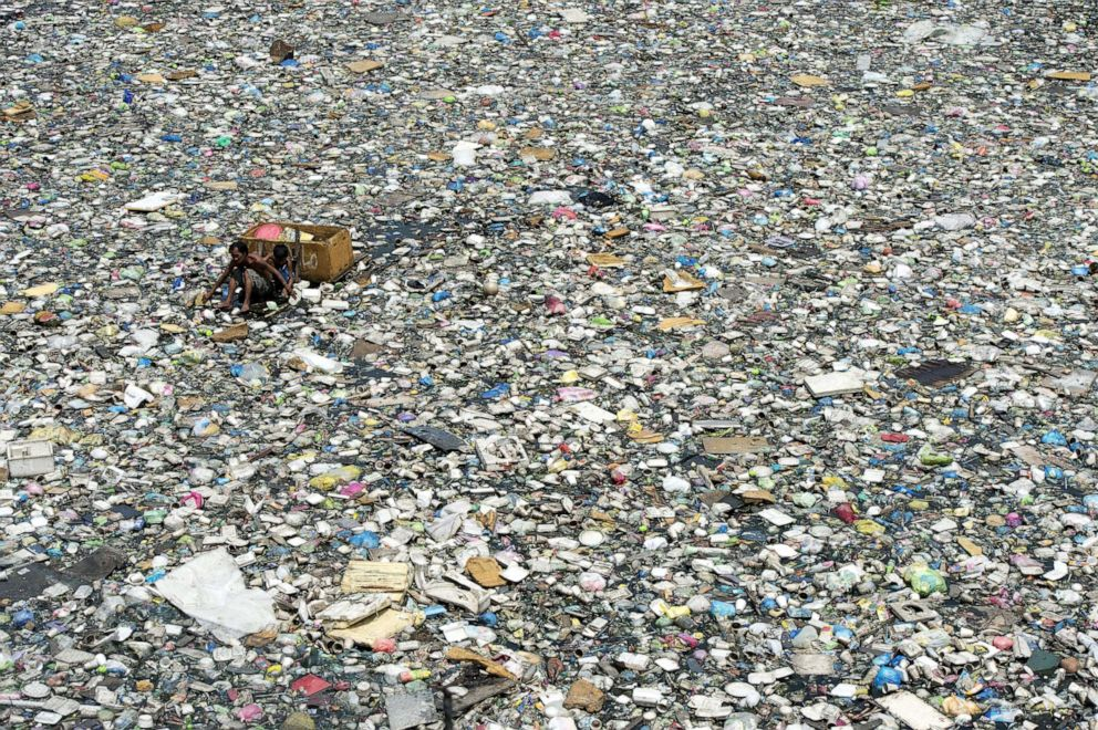 Plastic polymer can be endlessly recycled !
