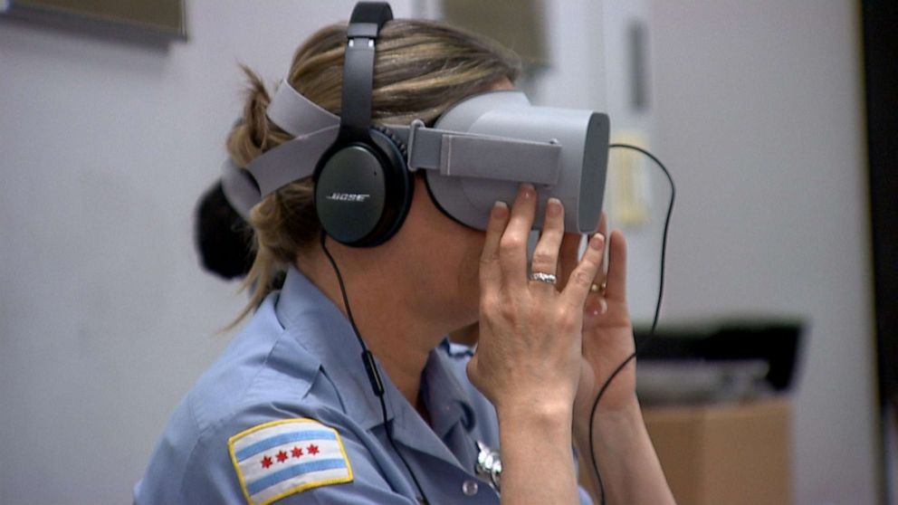 New virtual reality training tech takes cops directly into the minds