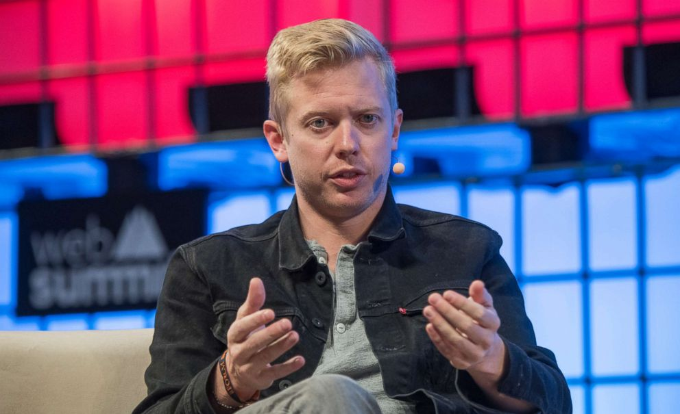 PHOTO: The CEO of Reddit Steve Huffman delivers remarks on Redesigning Reddit during the third day of Web Summit in Altice Arena, Nov. 08, 2017, in Lisbon, Portugal.