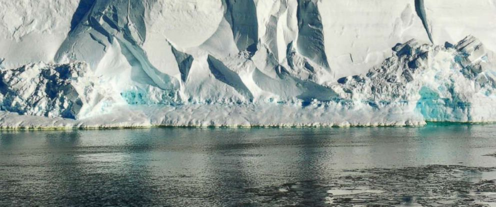 PHOTO: The Ross Ice Shelf extends from Antarctica into the Ross Sea.