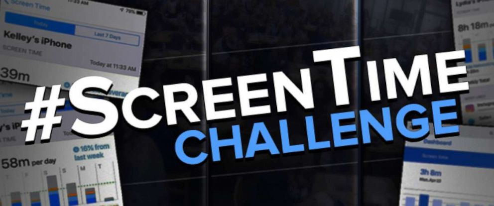 PHOTO: Join the #ScreenTime challenge by checking your phone usage.