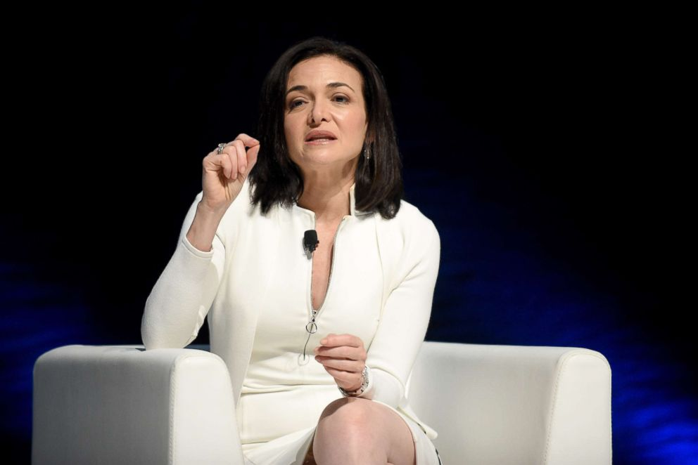 PHOTO: Chief Operating Officer of Facebook, Sheryl Sandberg, attends the Cannes Lions Festival 2017, June 22, 2017, in Cannes, France.