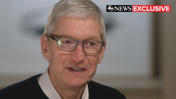 Apple CEO Tim Cook talks protecting customers' private data, limiting screen time: 'You are not our product'