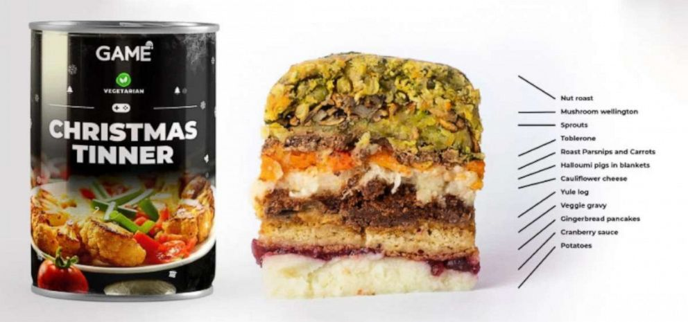 Christmas Tinner 2020 Vegan gamers level up with all day Christmas feast in a can   ABC News