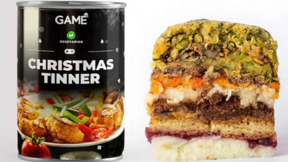 Vegan gamers level up with all-day Christmas feast in a can