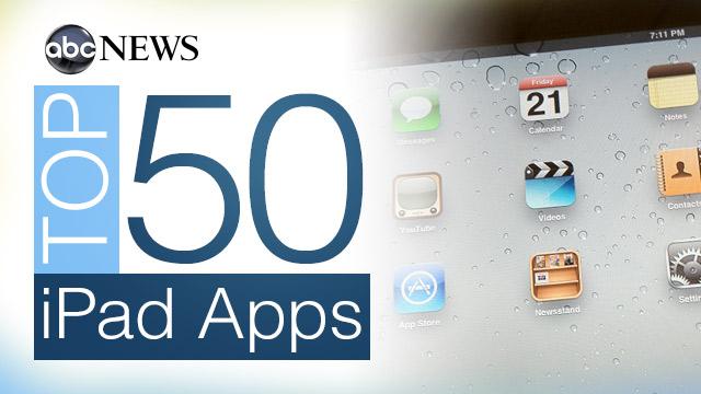 ABC News' Top 50 iPad Apps