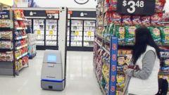 Select Walmart stores have autonomous robots that track
