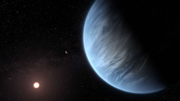 Water vapor and temperatures that could support life found on exoplanet, NASA says