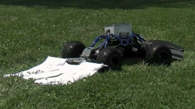 Good Morning America Robot : Robot added to the war on ticks video abc news