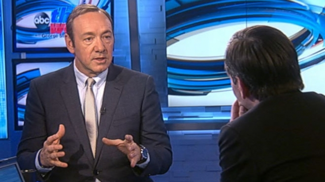 """VIDEO: Actor Kevin Spacey discusses the return of Netflix hit series """"House of Cards."""""""