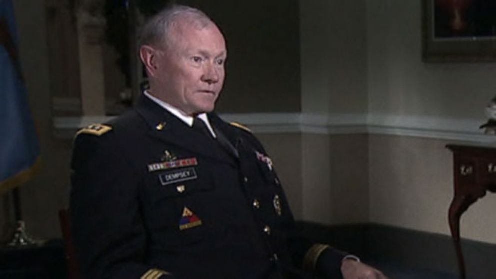VIDEO: Gen. Martin Dempsey: ISIS Becoming Harder to Target