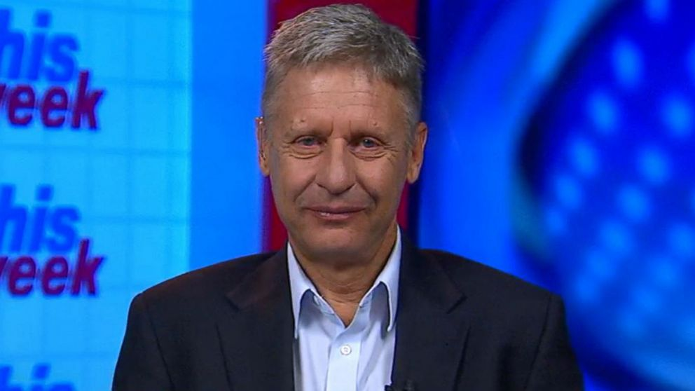 Gary Johnson Takes 'Great Pride' in Offering Alternative ...