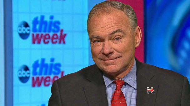 Kaine Calls FBI Director's Actions on Email Review 'Extremely Puzzling'