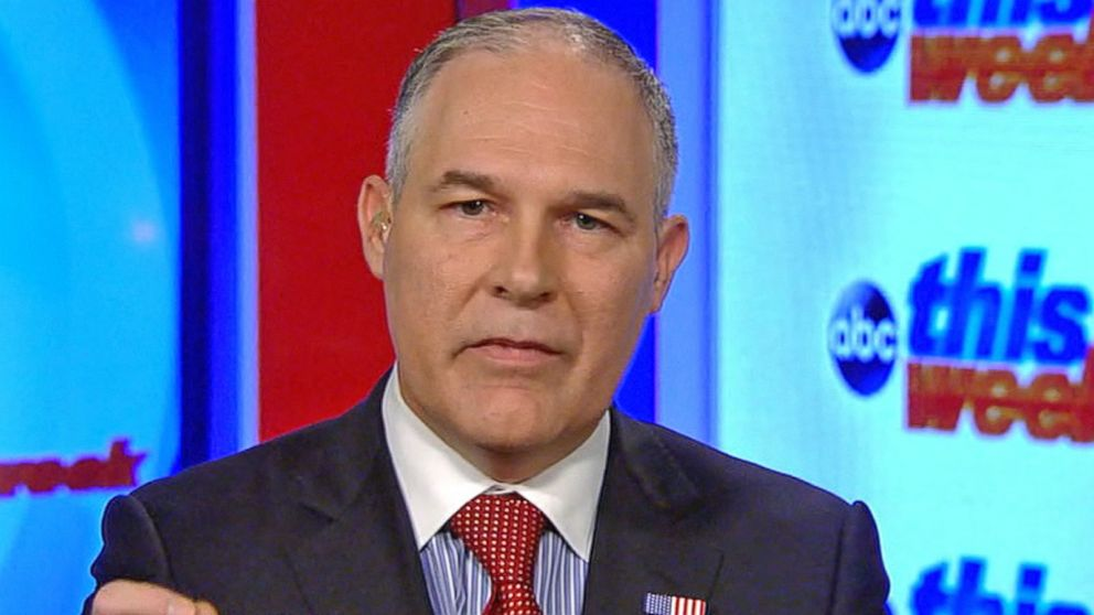 VIDEO: EPA administrator on the White Houses latest actions on the environment