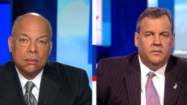 'VIDEO: Jeh Johnson and Chris Christie on latest indictments in Mueller investigation' from the web at 'https://s.abcnews.com/images/ThisWeek/180218_tw_johnson_christie_16x9_384.jpg'