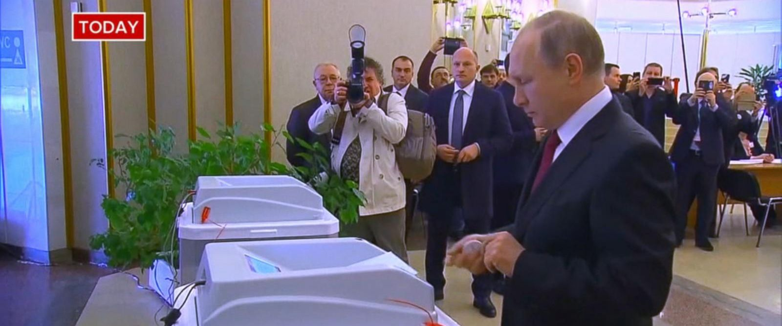 VIDEO: Russians head to the polls to vote, but Putin expected to easily remain in power
