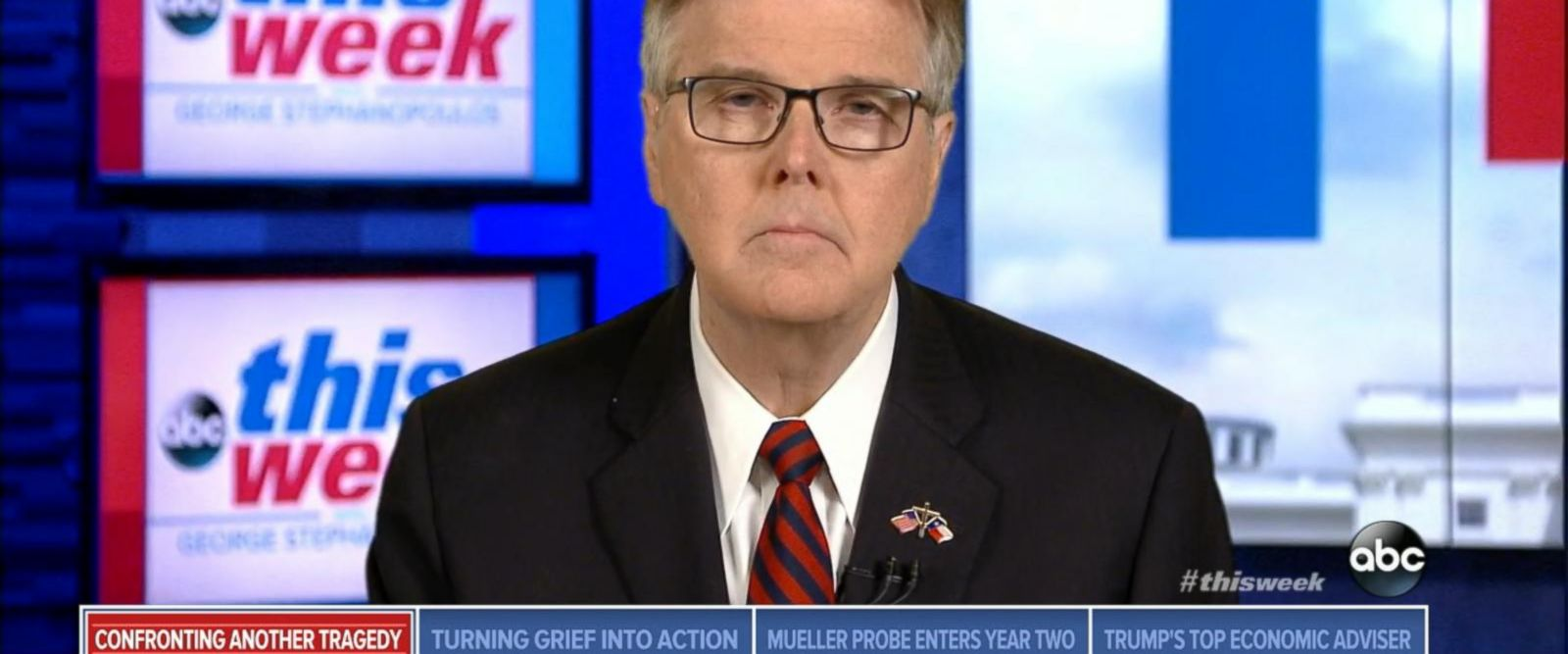 VIDEO: Texas Lt. Gov. Dan Patrick on Santa Fe High School mass shooting