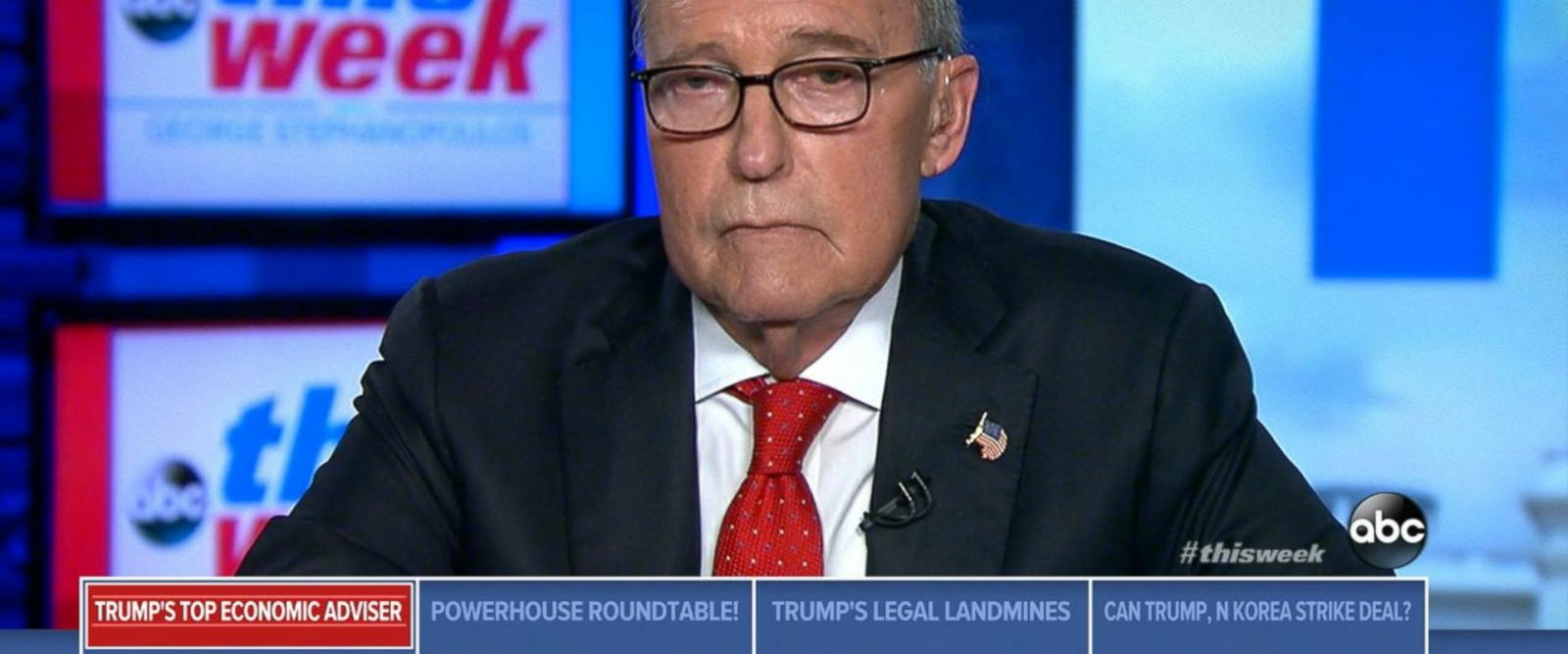 VIDEO: One-on-one with White House National Economic Council Director Larry Kudlow
