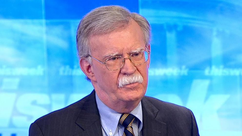 National security adviser John Bolton says Trump is 'as clear as clear can be' on elimination of ISIS