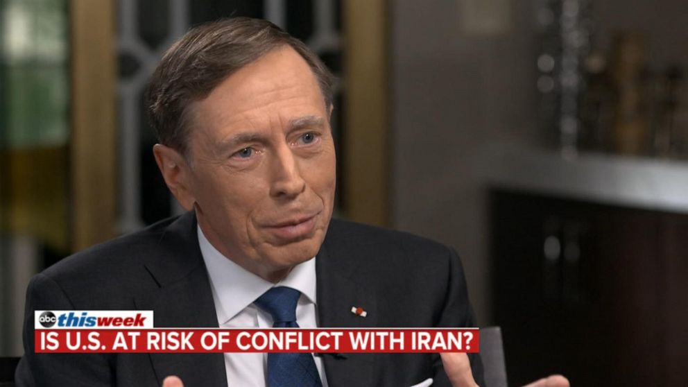 Bolton may be 'hard-liner' but Trump 'not after regime change' in Iran: Petraeus
