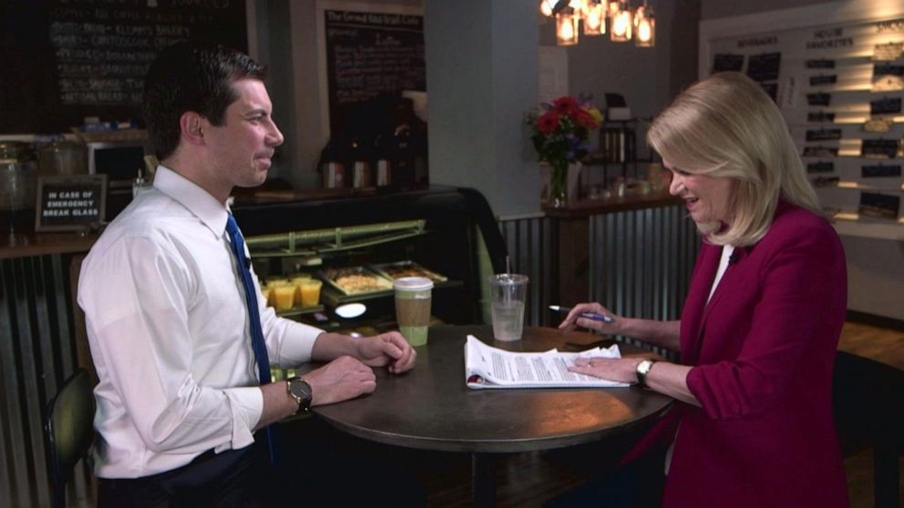 1-on-1 with 2020 presidential candidate Pete Buttigieg