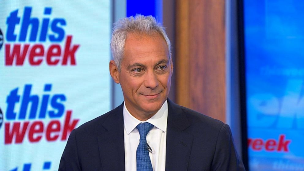 Former Chicago Mayor Rahm Emanuel joins ABC News as contributor