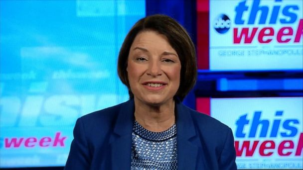 'I don't want to be the president for half of America': Sen. Amy Klobuchar