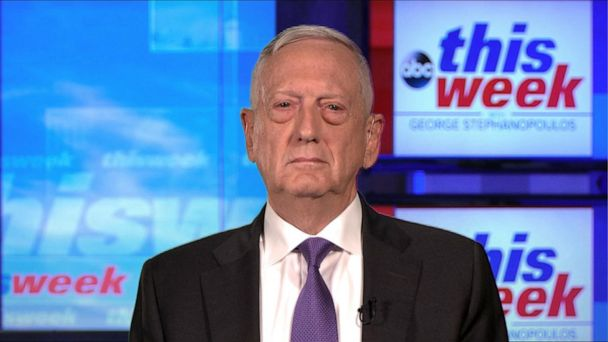 Iran 'trying to craft a foreign policy that pushes others around': Mattis