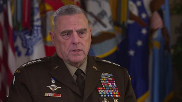 Over 500 troops to remain in Syria: Joint Chiefs Chairman Milley