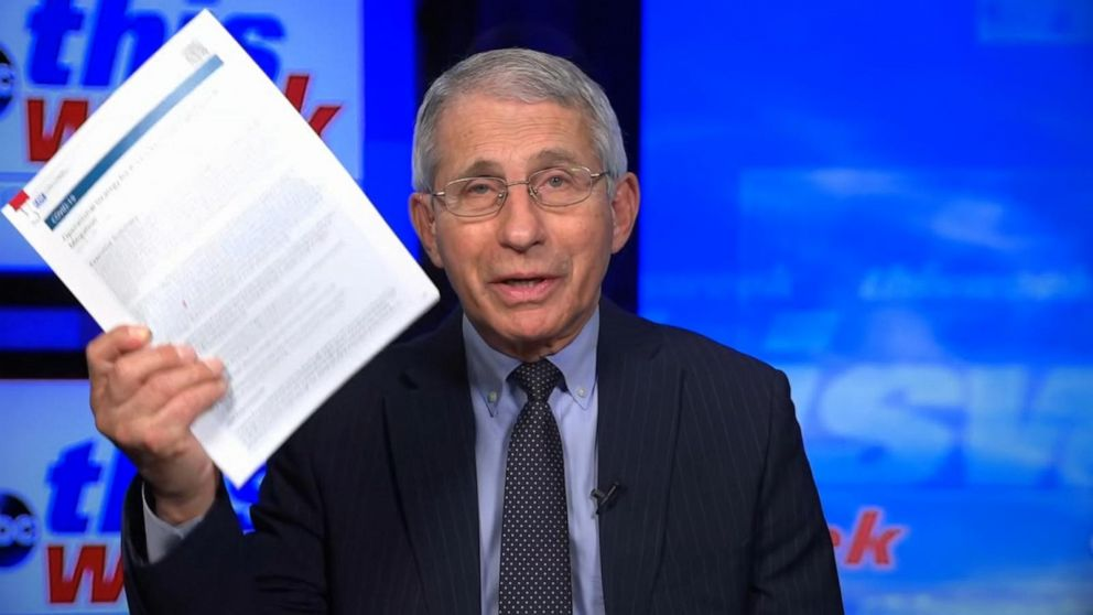 New CDC guidelines do 'a lot of things' to protect teachers: Fauci - ABC  News