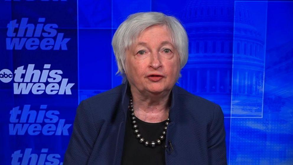 Biden's COVID relief package is 'right size': Treasury Secretary Janet  Yellen - ABC News