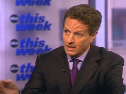 Treasury Secretary Tim Geithner talks to George Stephanopoulos about the 135 billion dollars of money left in TARP