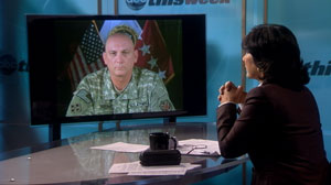 "Christiane Amanpour interviews Gen. Ray Odierno on ABCs ""This Week."""