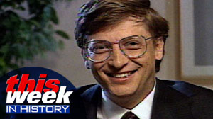 Microsofts Bill Gates on This Week on January 3, 1993