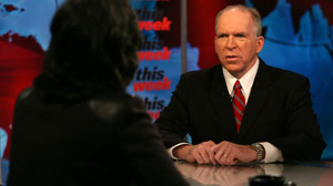 "On ""This Week,"" Deputy National Security Adviser John Brennan discusses the global terror threat."