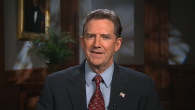 "PHOTO: Senator Jim DeMint (R-SC) is interviewed on ""This Week."""