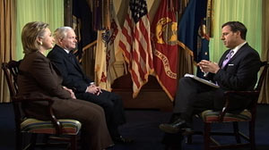 ABCs Jake Tapper interviews Defense Secretary Robert Gates and Secretary of State Hillary Clinton.