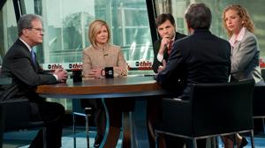 """PHOTO Health care debate on """"This Week"""" Nov. 22, 2009."""