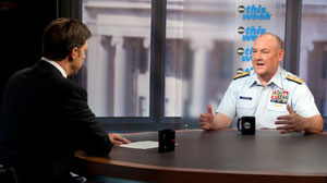 "Adm. Thad Allen appears on ABCs ""This Week"""