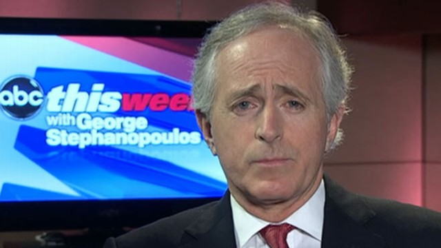 "VIDEO: Corker questions Defense secretary nominees temperament on ""This Week."""