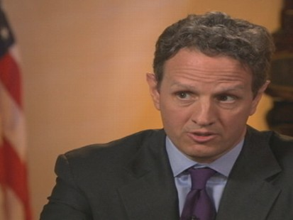 Video of Sec. Timothy Geithner on This Week.