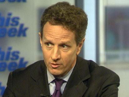 VIDEO: Geithner on Economy