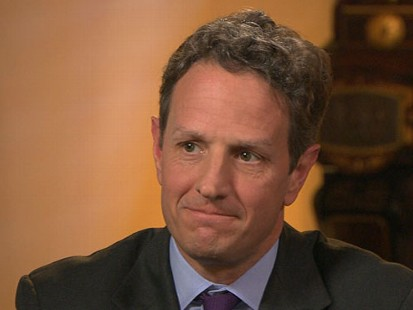 "VIDEO: Tim Geithner on ""This Week"""