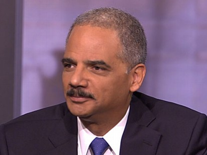 VIDEO: Eric Holder on This Week