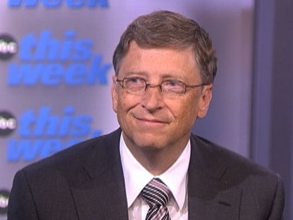 "VIDEO: Bill Gates on ""This Week"""