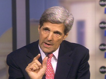 Sen. John Kerry talks with George Stephanopoulos about the importance of contuing to fight for the health care bill in light of Sen. Ted Kennedys passing