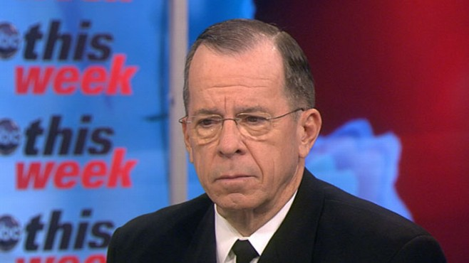 VIDEO: Adm. Mike Mullen on This Week