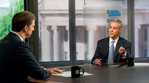White House Chief of Staff Rahm Emanuel on This Week.